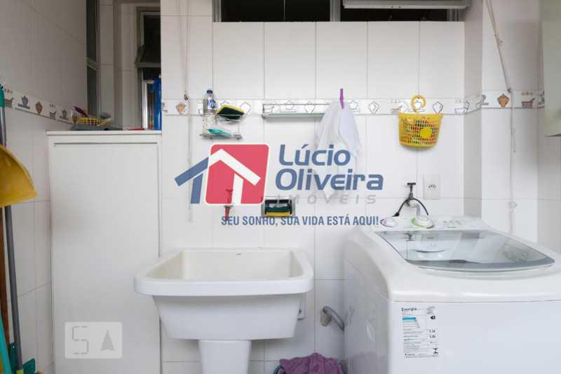 14-Lavanderia - Apartamento à venda Rua Marechal Jofre,Grajaú, Rio de Janeiro - R$ 455.000 - VPAP30400 - 15