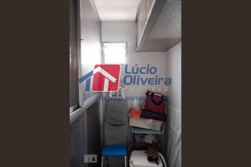 16-dependencia empregada - Apartamento à venda Rua Marechal Jofre,Grajaú, Rio de Janeiro - R$ 455.000 - VPAP30400 - 17