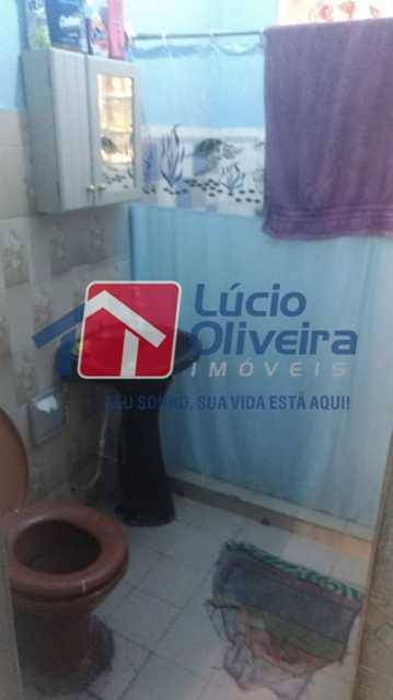 9-banheiro - Casa de Vila à venda Rua Tomás Lópes,Penha Circular, Rio de Janeiro - R$ 245.000 - VPCV20066 - 5