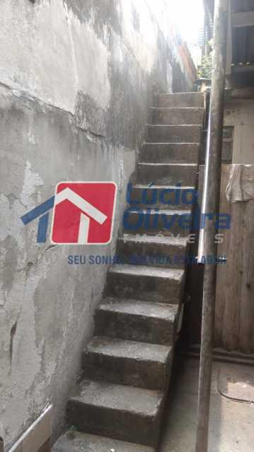 18-escada terraco - Casa de Vila à venda Rua Tomás Lópes,Penha Circular, Rio de Janeiro - R$ 245.000 - VPCV20066 - 11