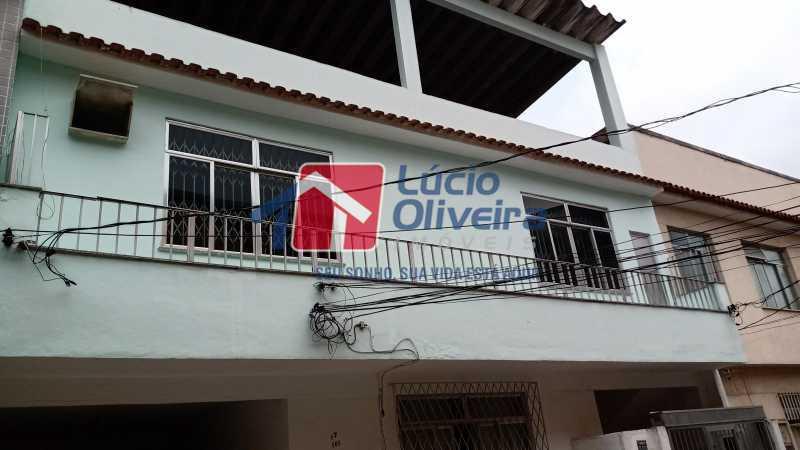 1 Frente imóvel - Casa de Vila à venda Avenida Ernani Cardoso,Cascadura, Rio de Janeiro - R$ 380.000 - VPCV20067 - 1