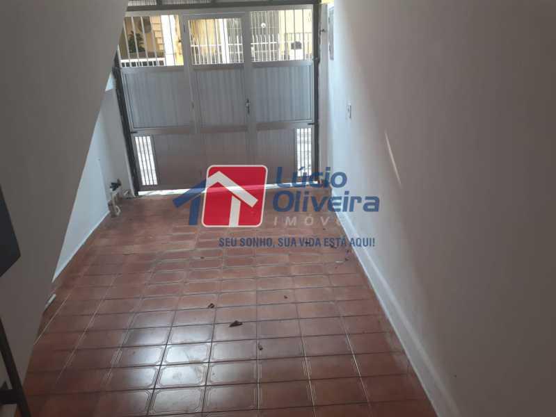 2 garagem - Casa de Vila à venda Avenida Ernani Cardoso,Cascadura, Rio de Janeiro - R$ 380.000 - VPCV20067 - 3