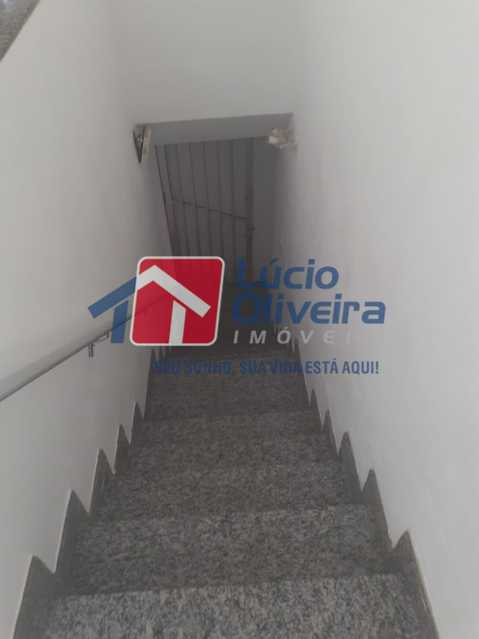 2.1 escada entrada - Casa de Vila à venda Avenida Ernani Cardoso,Cascadura, Rio de Janeiro - R$ 380.000 - VPCV20067 - 4