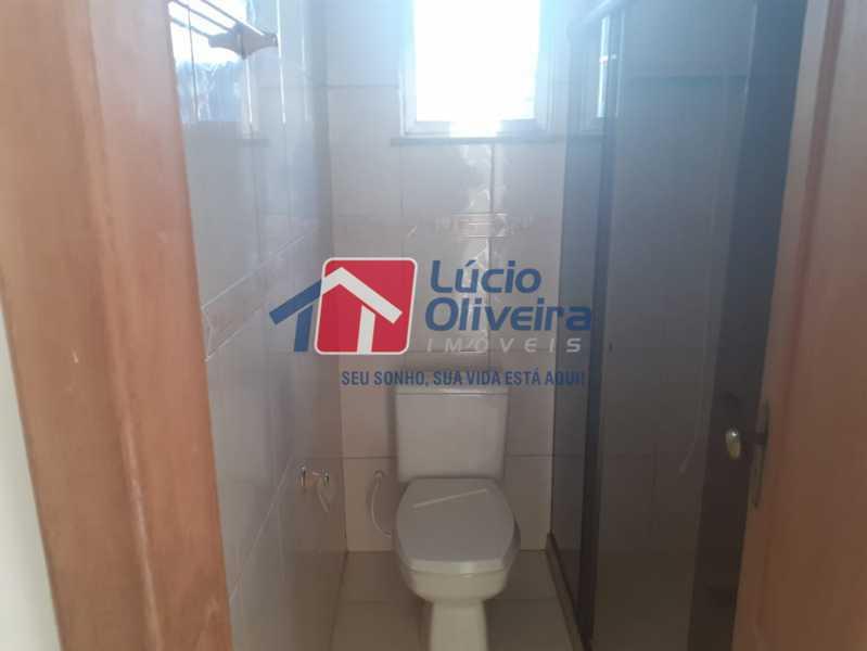banheiro social - Casa de Vila à venda Avenida Ernani Cardoso,Cascadura, Rio de Janeiro - R$ 380.000 - VPCV20067 - 10