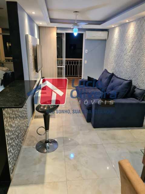 1-sala - Apartamento à venda Rua Cachambi,Cachambi, Rio de Janeiro - R$ 685.000 - VPAP21593 - 1