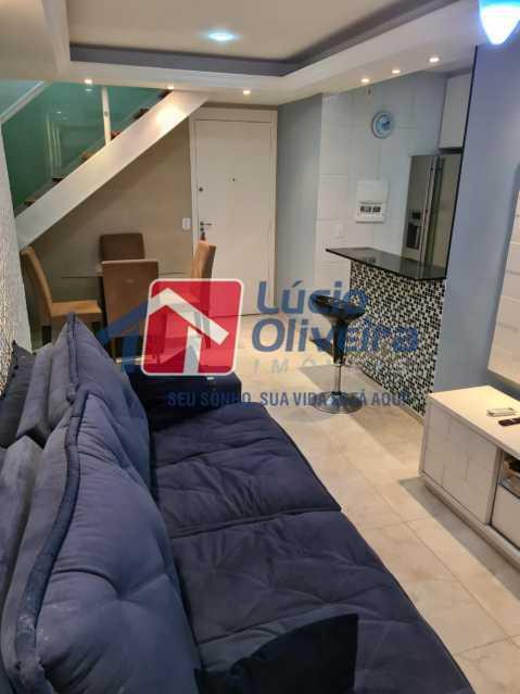 2-sala - Apartamento à venda Rua Cachambi,Cachambi, Rio de Janeiro - R$ 685.000 - VPAP21593 - 3