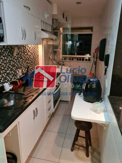 9-cozinha - Apartamento à venda Rua Cachambi,Cachambi, Rio de Janeiro - R$ 685.000 - VPAP21593 - 10