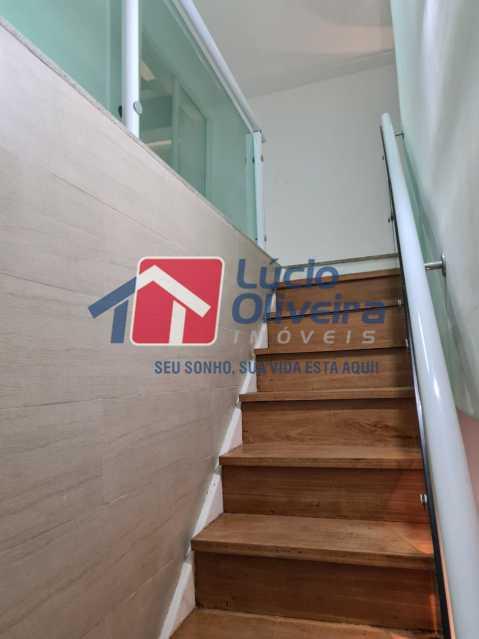 11-escadas - Apartamento à venda Rua Cachambi,Cachambi, Rio de Janeiro - R$ 685.000 - VPAP21593 - 12