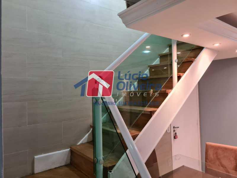 12-escadas - Apartamento à venda Rua Cachambi,Cachambi, Rio de Janeiro - R$ 685.000 - VPAP21593 - 13