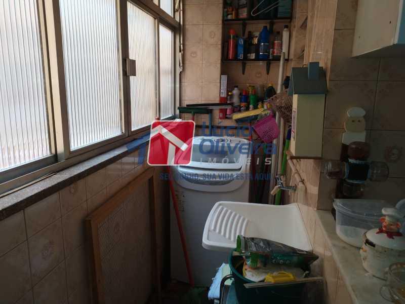 àrea de Serviço.. - Apartamento à venda Rua Heráclito Graça,Lins de Vasconcelos, Rio de Janeiro - R$ 260.000 - VPAP30403 - 13