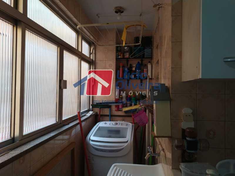 Área de Serviço. - Apartamento à venda Rua Heráclito Graça,Lins de Vasconcelos, Rio de Janeiro - R$ 260.000 - VPAP30403 - 12