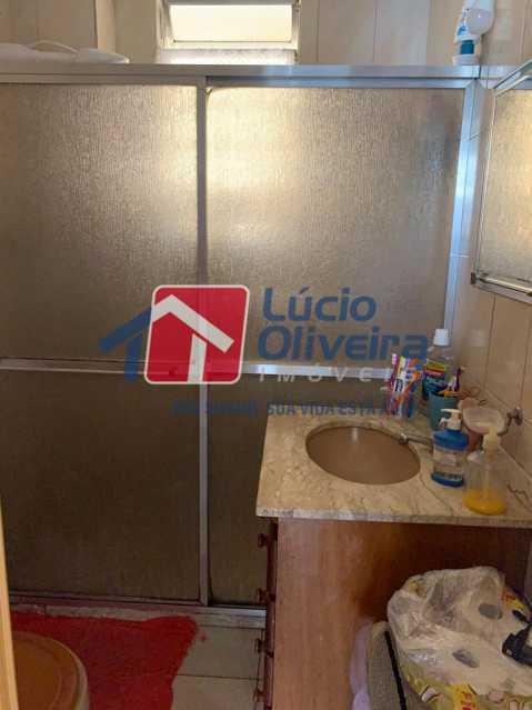 Banheiro. - Apartamento à venda Rua Heráclito Graça,Lins de Vasconcelos, Rio de Janeiro - R$ 260.000 - VPAP30403 - 9