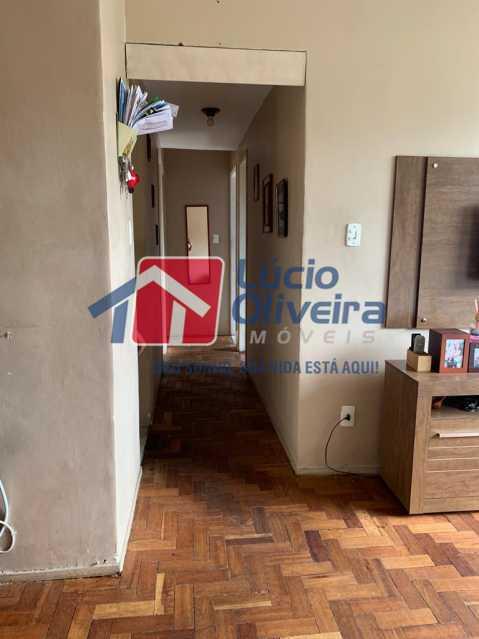 Corredor - Apartamento à venda Rua Heráclito Graça,Lins de Vasconcelos, Rio de Janeiro - R$ 260.000 - VPAP30403 - 3