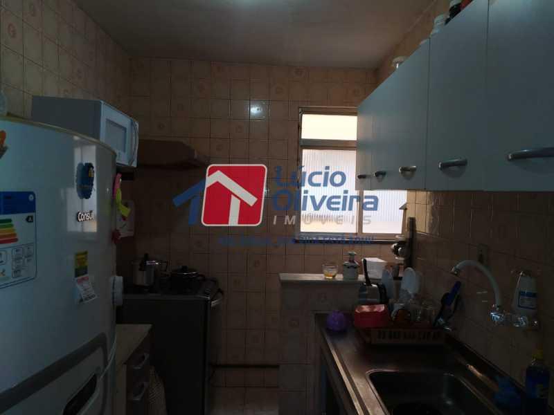 Cozinha. - Apartamento à venda Rua Heráclito Graça,Lins de Vasconcelos, Rio de Janeiro - R$ 260.000 - VPAP30403 - 10
