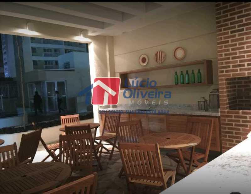 2-Espaço gourmet - Cobertura à venda Rua Bernardo Taveira,Vila da Penha, Rio de Janeiro - R$ 585.000 - VPCO20018 - 3