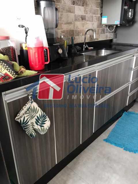 8-Cozina armarios - Cobertura à venda Rua Bernardo Taveira,Vila da Penha, Rio de Janeiro - R$ 585.000 - VPCO20018 - 9