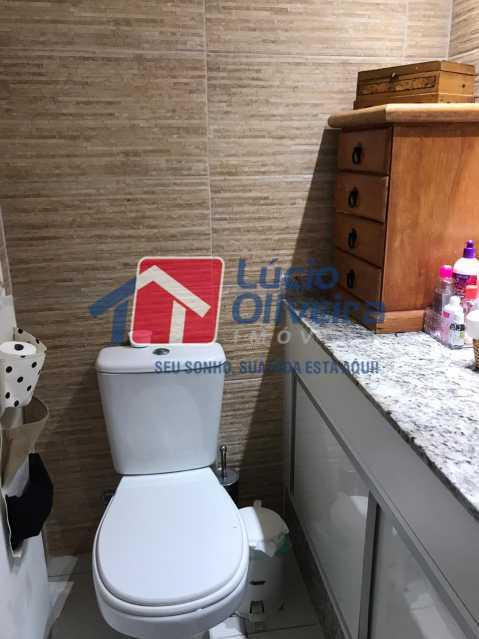 12-Banheiro suite - Cobertura à venda Rua Bernardo Taveira,Vila da Penha, Rio de Janeiro - R$ 585.000 - VPCO20018 - 12