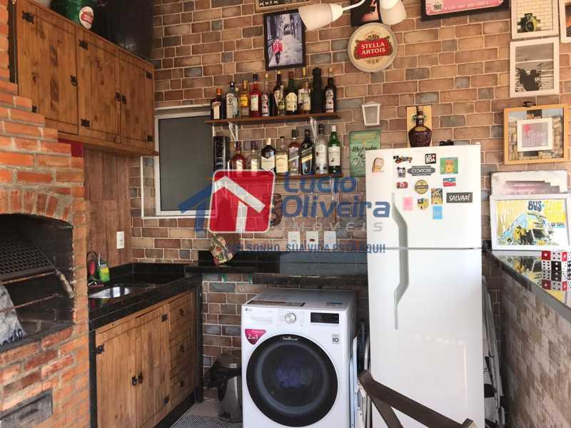 13-Bar e churrasqueira - Cobertura à venda Rua Bernardo Taveira,Vila da Penha, Rio de Janeiro - R$ 585.000 - VPCO20018 - 13