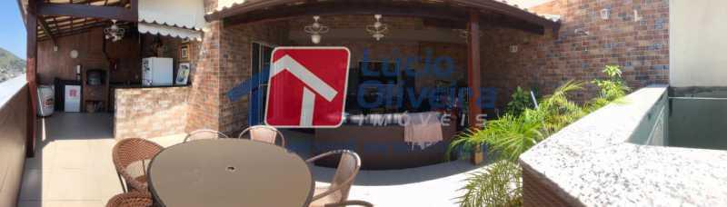 14-Area gourmet  terraço - Cobertura à venda Rua Bernardo Taveira,Vila da Penha, Rio de Janeiro - R$ 585.000 - VPCO20018 - 14