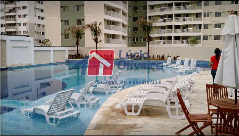 18-Piscina - Cobertura à venda Rua Bernardo Taveira,Vila da Penha, Rio de Janeiro - R$ 585.000 - VPCO20018 - 18