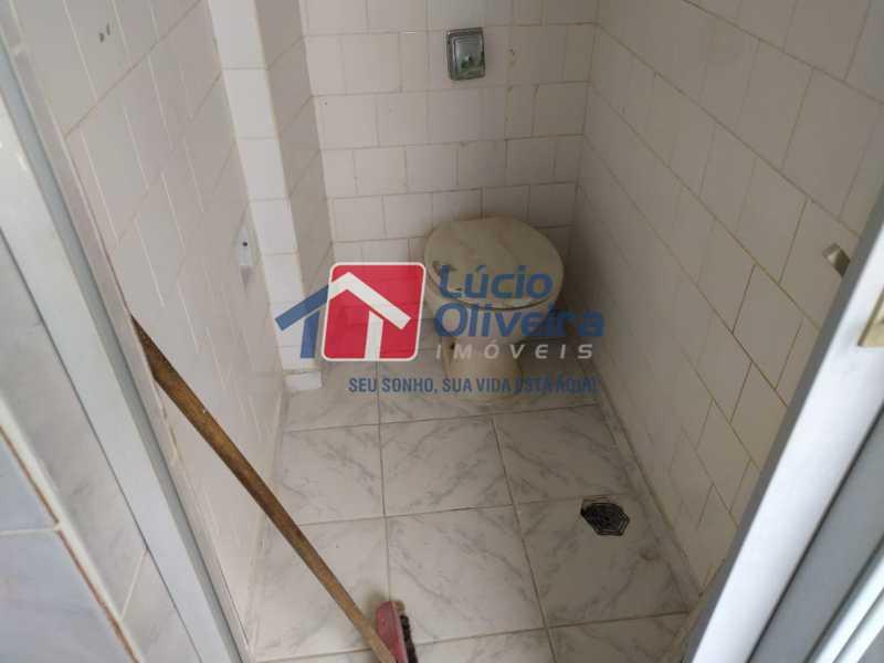 Banheiro de Empregada. - Apartamento à venda Rua Oliva Maia,Madureira, Rio de Janeiro - R$ 200.000 - VPAP21609 - 19