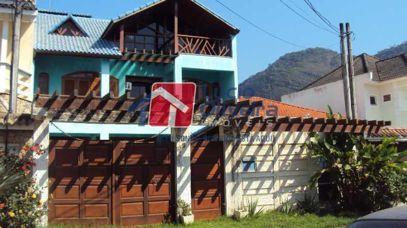 1- Frente - Casa à venda Estrada dos Bandeirantes,Jacarepaguá, Rio de Janeiro - R$ 790.000 - VPCA40069 - 1