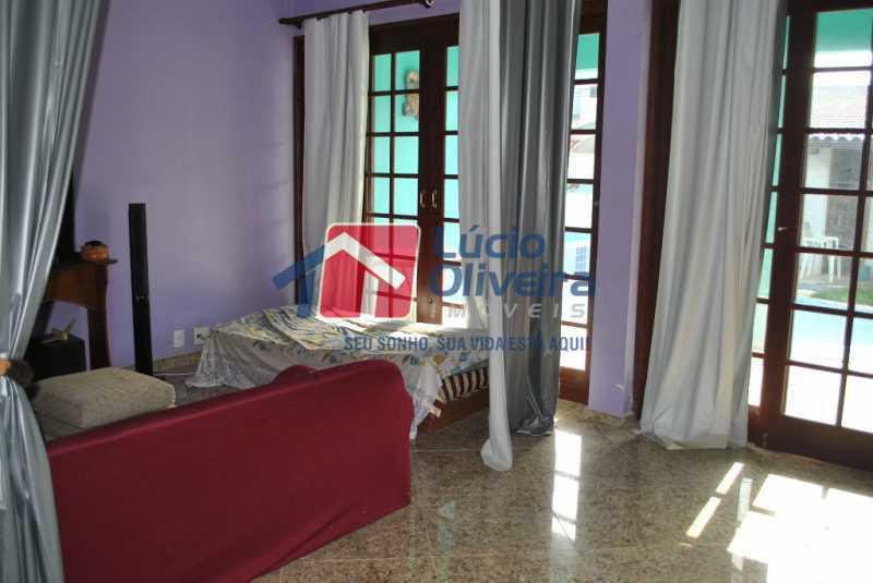 3-  Sala ambiente - Casa à venda Estrada dos Bandeirantes,Jacarepaguá, Rio de Janeiro - R$ 790.000 - VPCA40069 - 4