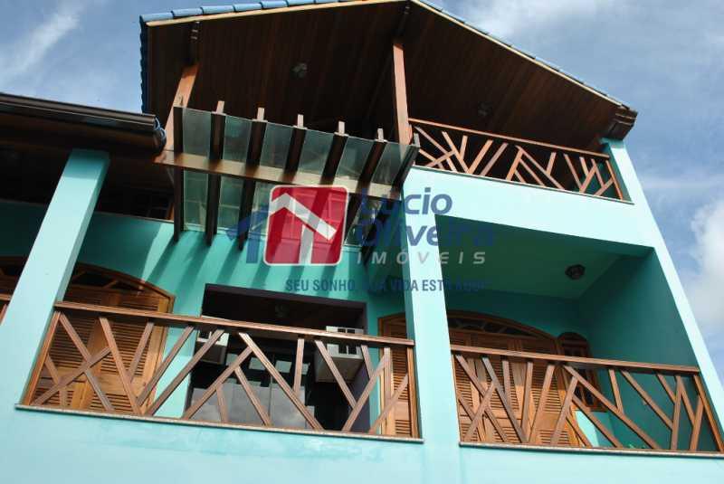 8- Varanda - Casa à venda Estrada dos Bandeirantes,Jacarepaguá, Rio de Janeiro - R$ 790.000 - VPCA40069 - 9