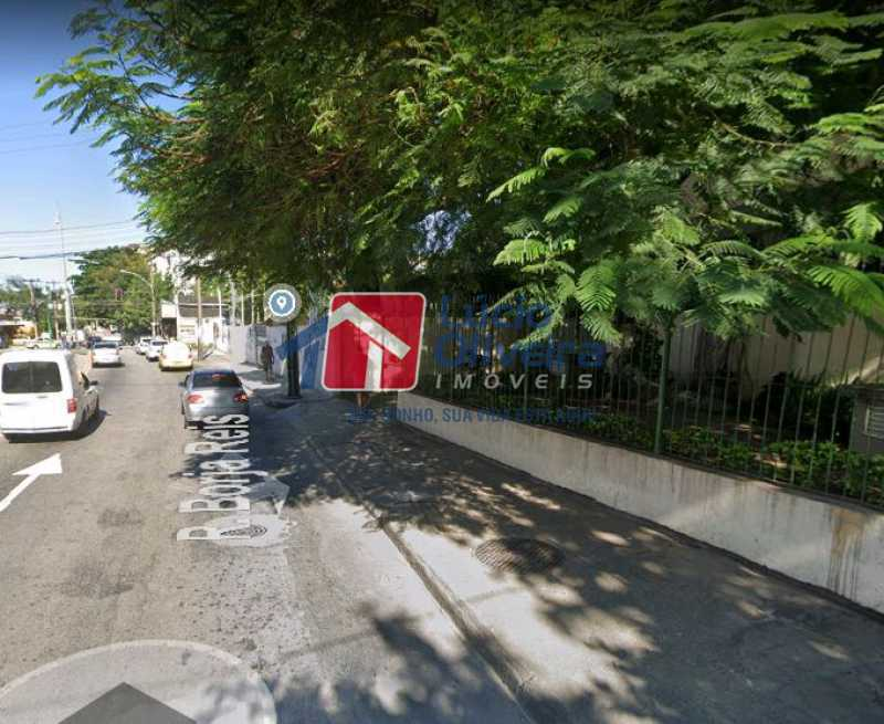 18-Vista entrada garagem - Apartamento à venda Rua Borja Reis,Méier, Rio de Janeiro - R$ 260.000 - VPAP21610 - 18
