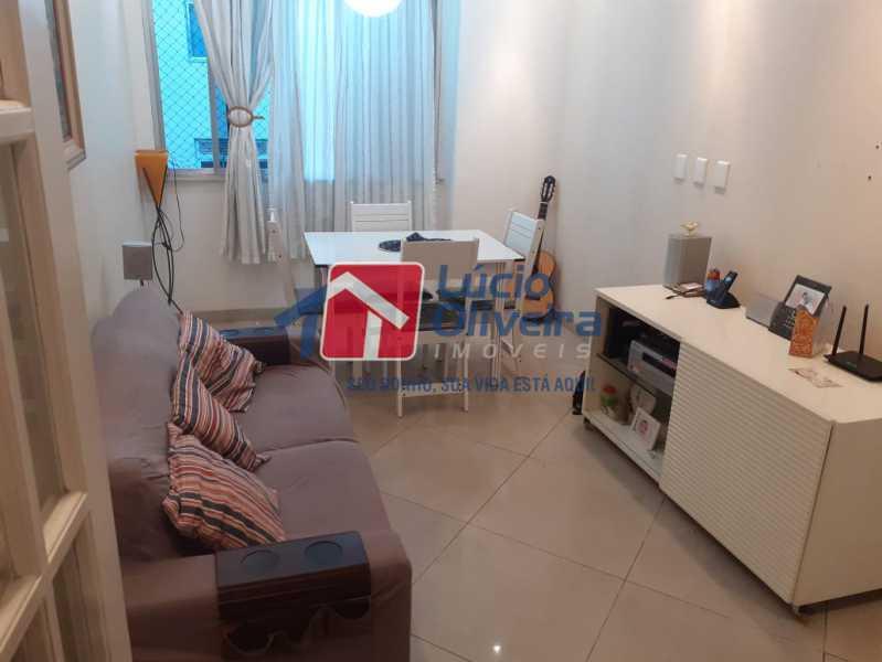 1- Sala ambiente - Apartamento à venda Rua Delgado de Carvalho,Tijuca, Rio de Janeiro - R$ 575.000 - VPAP21611 - 1