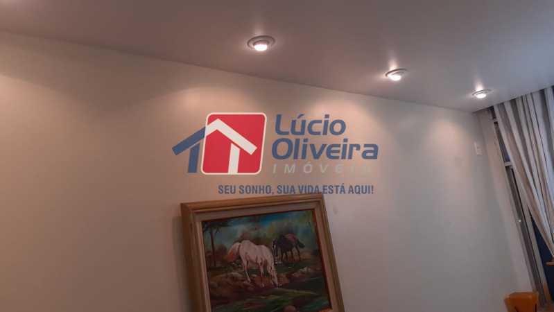 2- Sala detalhes teto luz indi - Apartamento à venda Rua Delgado de Carvalho,Tijuca, Rio de Janeiro - R$ 575.000 - VPAP21611 - 3