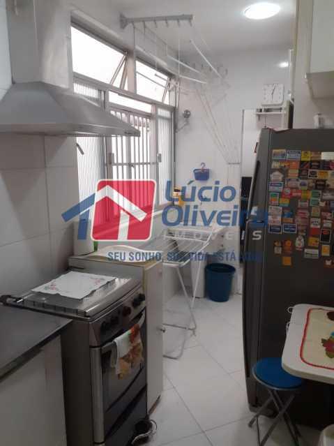 10-Cozinha corredor - Apartamento à venda Rua Delgado de Carvalho,Tijuca, Rio de Janeiro - R$ 575.000 - VPAP21611 - 11