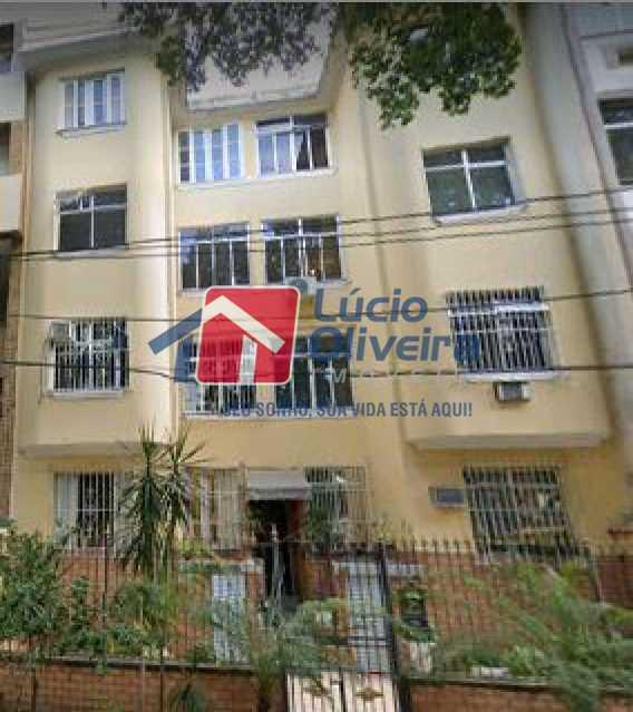 15-Vista predio - Apartamento à venda Rua Delgado de Carvalho,Tijuca, Rio de Janeiro - R$ 575.000 - VPAP21611 - 16