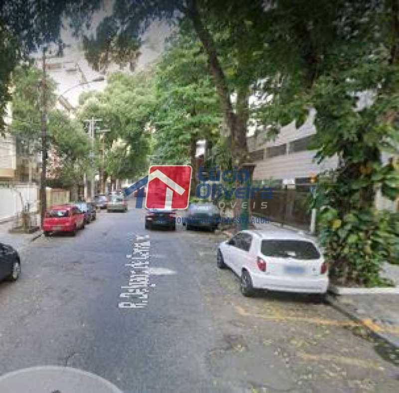 16-Vista rua - Apartamento à venda Rua Delgado de Carvalho,Tijuca, Rio de Janeiro - R$ 575.000 - VPAP21611 - 17
