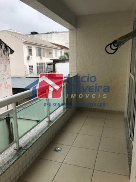 08- Varandsa - Apartamento à venda Avenida Engenheiro Richard,Grajaú, Rio de Janeiro - R$ 550.000 - VPAP21615 - 9
