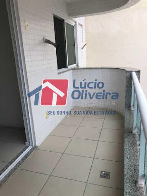 09 - Varanda - Apartamento à venda Avenida Engenheiro Richard,Grajaú, Rio de Janeiro - R$ 550.000 - VPAP21615 - 10