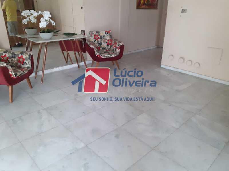 03 - Hall prédio - Apartamento à venda Rua Araújo Leitão,Engenho Novo, Rio de Janeiro - R$ 230.000 - VPAP21616 - 4