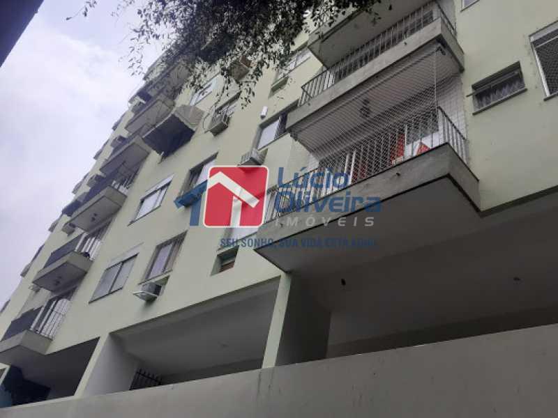 12- Fachada - Apartamento à venda Rua Araújo Leitão,Engenho Novo, Rio de Janeiro - R$ 230.000 - VPAP21616 - 13