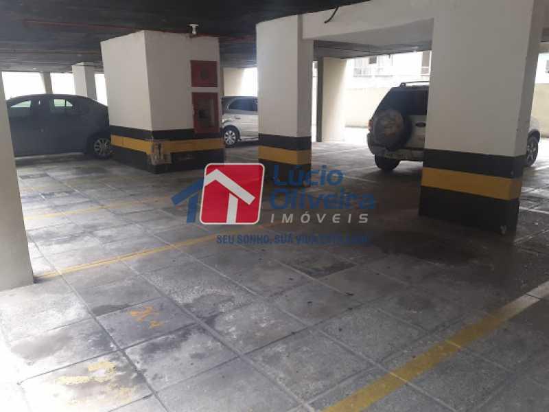 12- Garagem - Apartamento à venda Rua Araújo Leitão,Engenho Novo, Rio de Janeiro - R$ 230.000 - VPAP21616 - 14