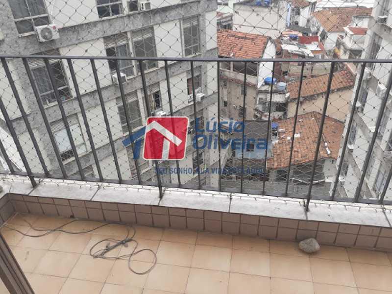 20- Varanda }Sala - Apartamento à venda Rua Araújo Leitão,Engenho Novo, Rio de Janeiro - R$ 230.000 - VPAP21616 - 21
