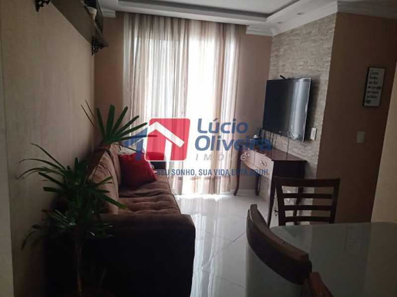 01- Sala - Apartamento à venda Rua Leopoldino Bastos,Engenho Novo, Rio de Janeiro - R$ 200.000 - VPAP21617 - 1