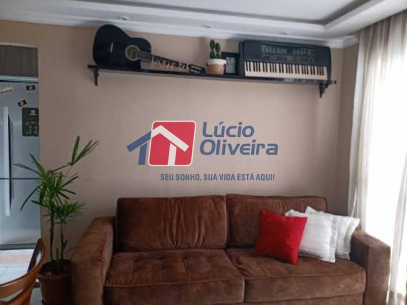 02- Sala - Apartamento à venda Rua Leopoldino Bastos,Engenho Novo, Rio de Janeiro - R$ 200.000 - VPAP21617 - 3