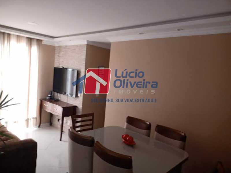 03- Sala - Apartamento à venda Rua Leopoldino Bastos,Engenho Novo, Rio de Janeiro - R$ 200.000 - VPAP21617 - 4