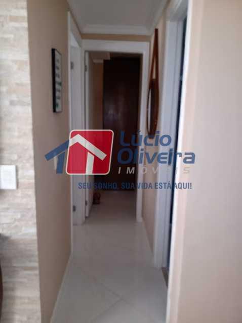 05- Circulação - Apartamento à venda Rua Leopoldino Bastos,Engenho Novo, Rio de Janeiro - R$ 200.000 - VPAP21617 - 6