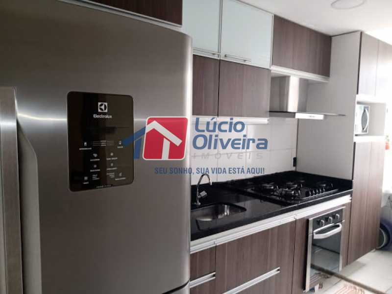 13- Cozinha] - Apartamento à venda Rua Leopoldino Bastos,Engenho Novo, Rio de Janeiro - R$ 200.000 - VPAP21617 - 14