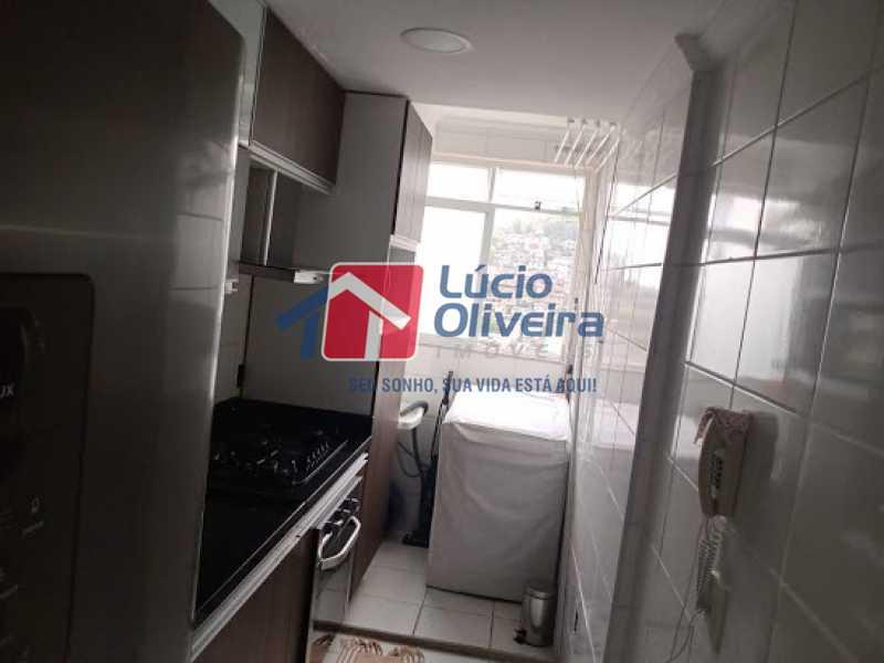 14- Cozinha - Apartamento à venda Rua Leopoldino Bastos,Engenho Novo, Rio de Janeiro - R$ 200.000 - VPAP21617 - 15