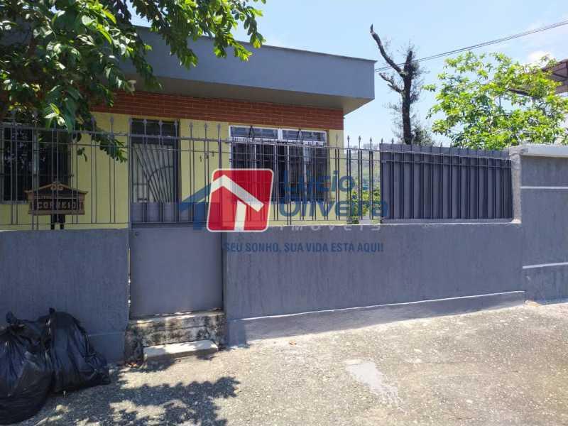 1-Frente da Casa - Casa à venda Rua Marins Loureiro,Vila da Penha, Rio de Janeiro - R$ 1.600.000 - VPCA40070 - 1