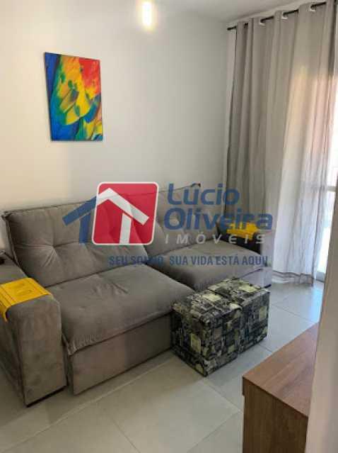 04- Sala - Apartamento à venda Rua Conselheiro Ferraz,Lins de Vasconcelos, Rio de Janeiro - R$ 295.000 - VPAP21623 - 5