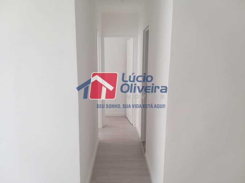 13- corredor - Apartamento à venda Rua Moacir de Almeida,Tomás Coelho, Rio de Janeiro - R$ 160.000 - VPAP21629 - 14