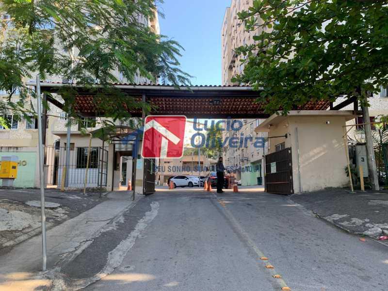 20-fachada - Apartamento à venda Rua Moacir de Almeida,Tomás Coelho, Rio de Janeiro - R$ 160.000 - VPAP21629 - 21
